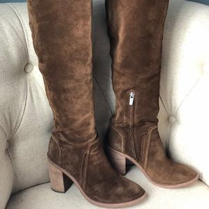 Vince Camuto Melaya over the knee suede boot